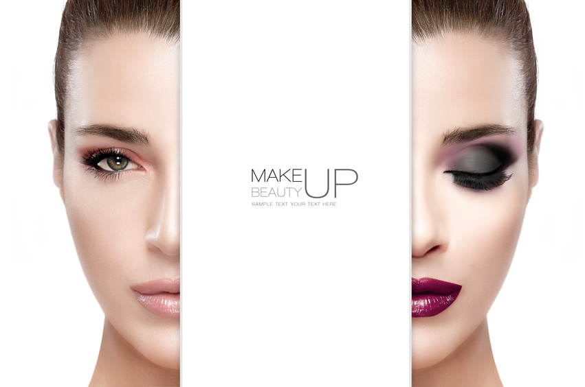 Beauty and Makeup concept.